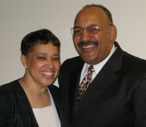 Pastor Gus Brown and his wife, Elaine