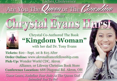Meet Chrystal Evans Hurst